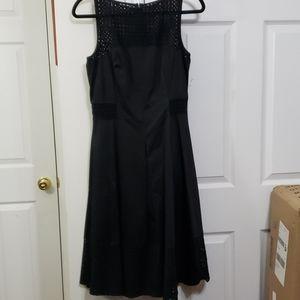 White house black market black lace size 6